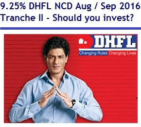 DHFL NCD Aug - Sep 2016 - Tranche II Review