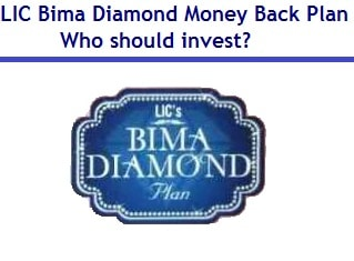LIC Bima Diamond Money Back Plan Review
