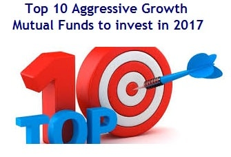Top 10 Aggressive Growth Mutual Funds to invest in 2017