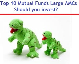 Top 10 Mutual Funds from Large AMCs - Should you invest-min