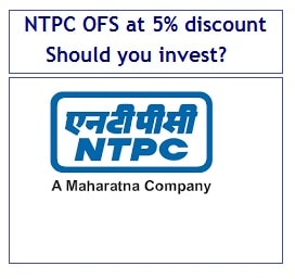 NTPC OFS at 5% discount (August-2017) - Should you invest