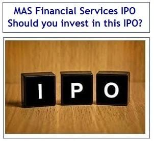 MAS Financial Services IPO Review