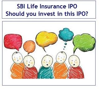 SBI Life Insurance IPO - Should you invest in this IPO-min