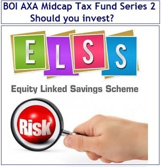BOI AXA Midcap Tax Fund Series 2 NFO - Should you invest-min