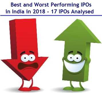 Best and Worst Performing IPOs 2018 - 17 IPOs analysed