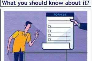 New Revised Form 16 – What an employee should know about it