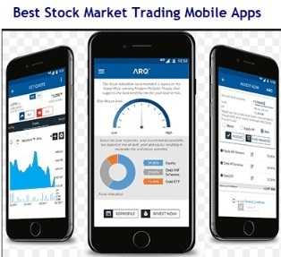 Best Stock Market Trading Mobile Apps in India