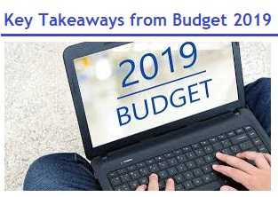 Budget Highlights 2019-2020
