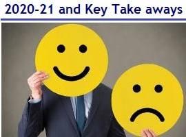 Highlights Union Budget 2020-21 – Key Take aways