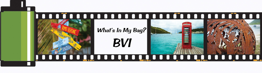 What's in My Bag? BVI Edition