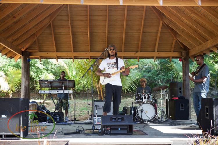 Omari Banks Eleven at DaVida, Anguilla