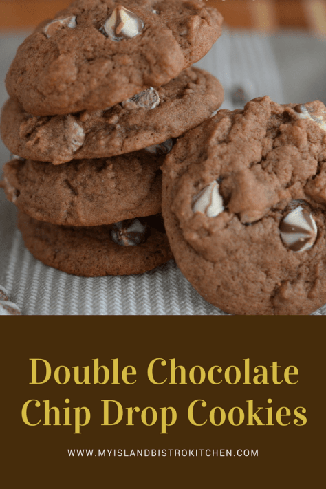 Double Chocolate Chip Drop Cookies