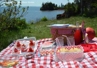 Canada Day Picnic at the Port-la-Joye/Fort Amherst National Historic Site in Rocky Point, Prince Edward Island