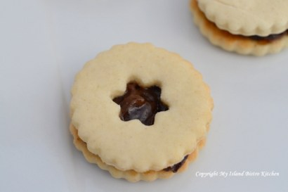 Plum Puff Cookies