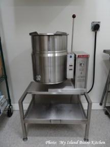 Large Cooking Pot inside the JJ Stewart Kitchen