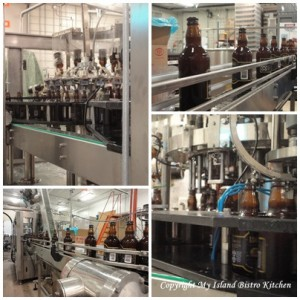 Bottling Beer at the Prince Edward Island Brewing Company
