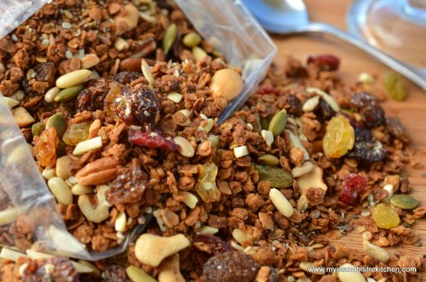 "Nutty Seedy Granola from Chef Michael Smith's ""Family Meals"" Cookbook"