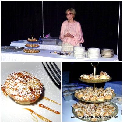 Peach Cobbler Tartlets from Sweet Treats