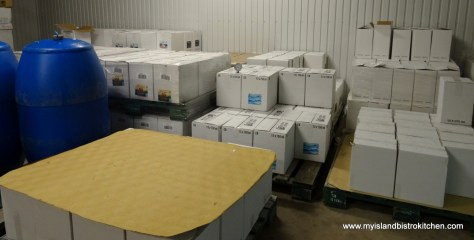 Boxes of Wine Ready for Shipment