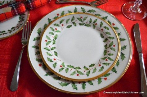 "Lenox ""Holiday"" Pattern"