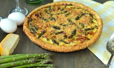 Asparagus Quiche