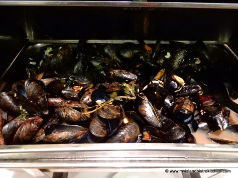 PEI Mussels Steamed in Beer
