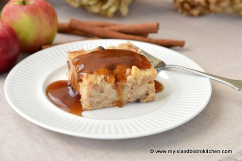 Apple-Maple Bread Pudding