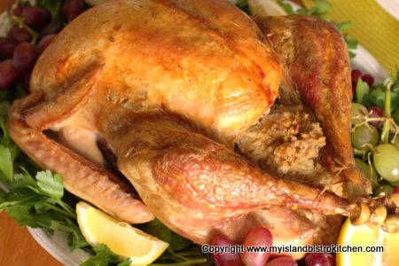 Roast Turkey with Stuffing