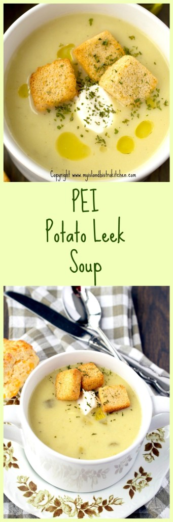 PEI Potato Leek Soup
