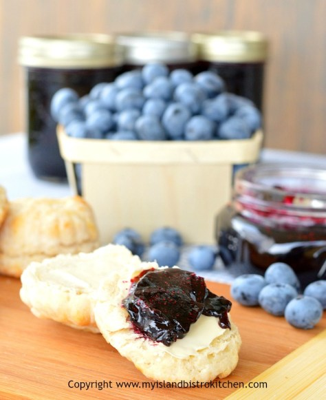 Blueberry and Grand Marnier Jam