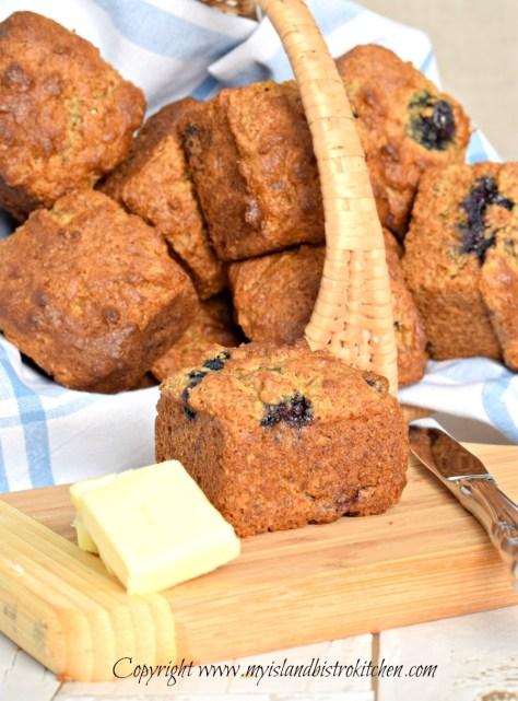 The Bistro's Gluten-free Blueberry Muffins