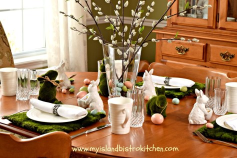 The Easter Bunny's Breakfast Table