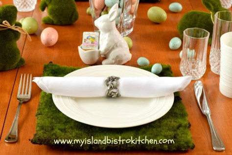 Easter Breakfast Placesetting