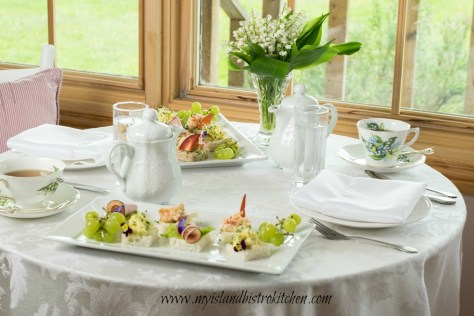 Lily of the Valley Afternoon Tea