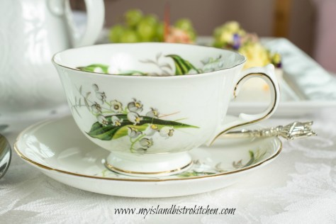 Adderley (England) Lily of the Valley Cup and Saucer