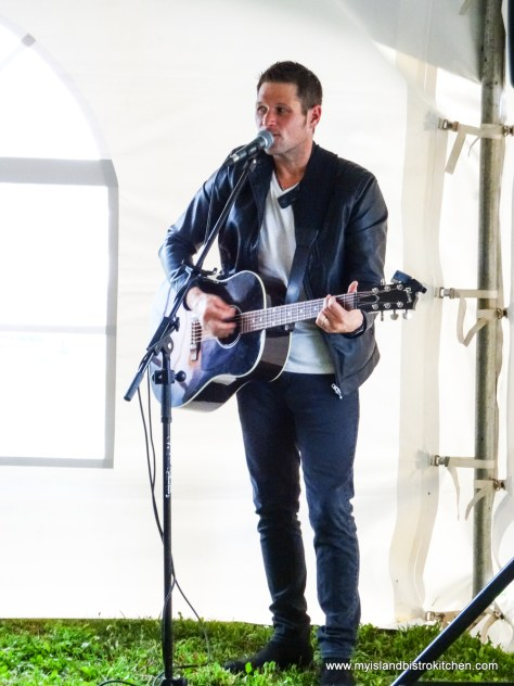 """PEI guitarist and singer, Barry O'Brien, performs at """"Taste of Georgetown"""" Event"""