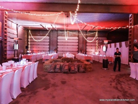 Toes, Taps, and Taters Dinner - PEI Fall Flavors Culinary Festival 2017, Canoe Cove
