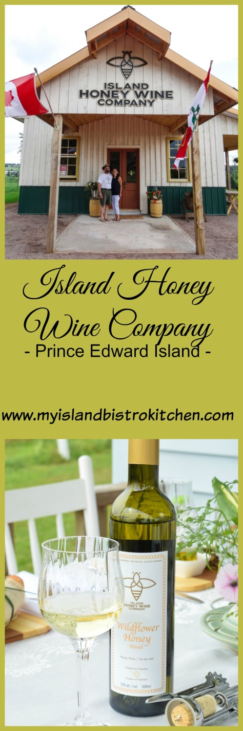 Island Honey Wine Company, Wheatley River, PEI, is PEI's first meadery dedicated to making mead with fermented honey and flowers and fruits from its own farm