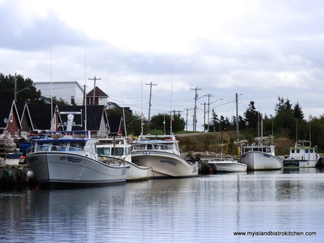 Fishing Boats at North Rustico Harbour, PEI