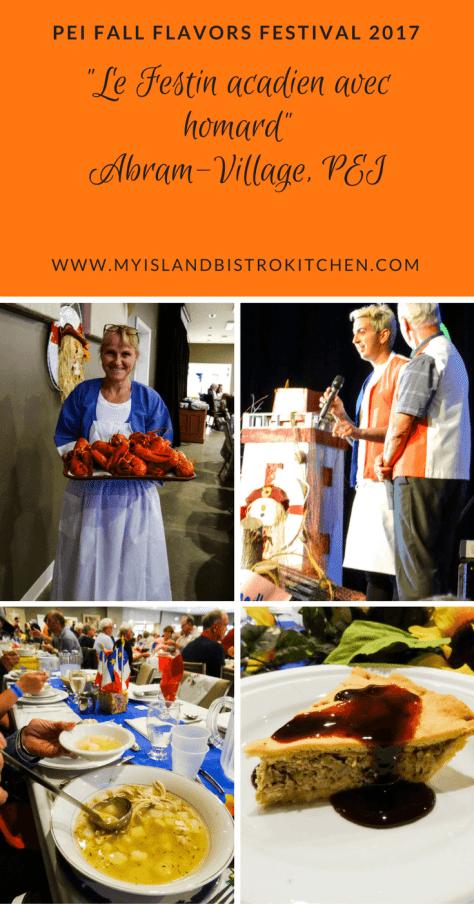 "PEI Fall Flavours 2017 Event ""Festin acadien avec homard"""