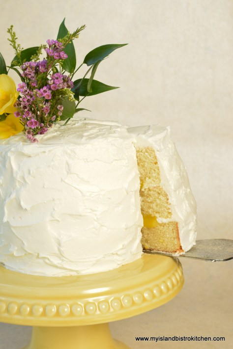 Lemon Elderberry Cake
