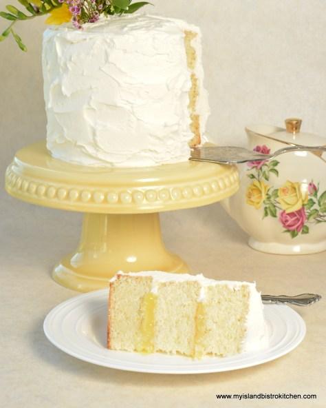 Lemon Elderberry Cake