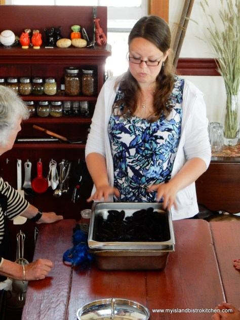 Christine Morgan Explains How PEI Mussels are Grown and Harvested