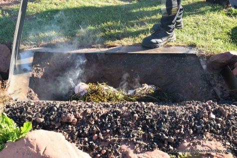 Fire Pit for Cooking Mussels at The Table Culinary Studio in New London, PEI