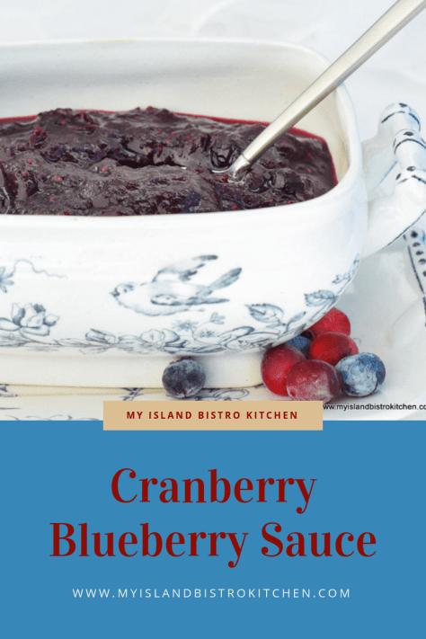 Cranberry Blueberry Sauce