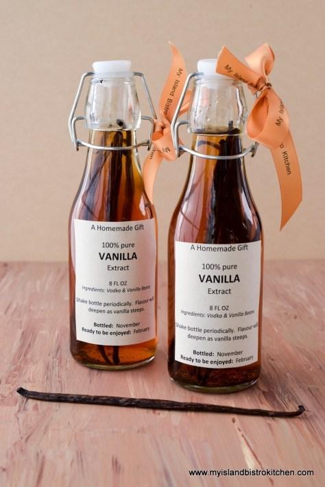 Homemade Pure Vanilla Extract