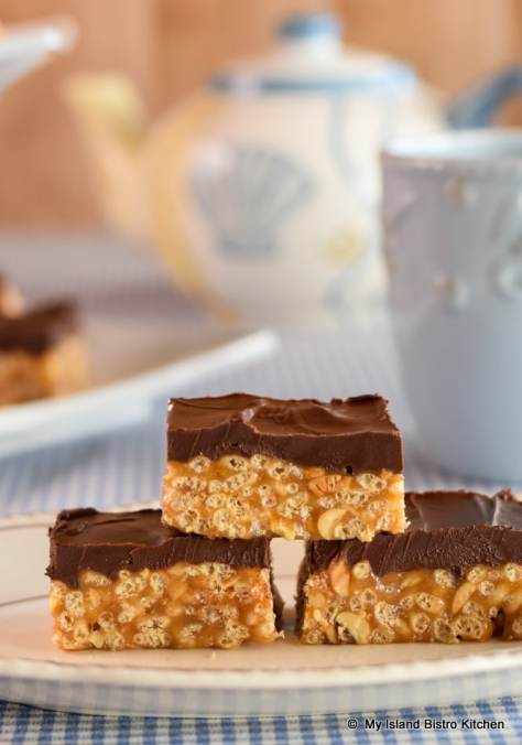 Plate of Sweet Marie Bars
