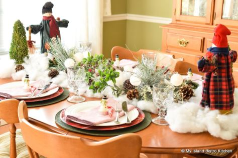 Christmas Tablesetting
