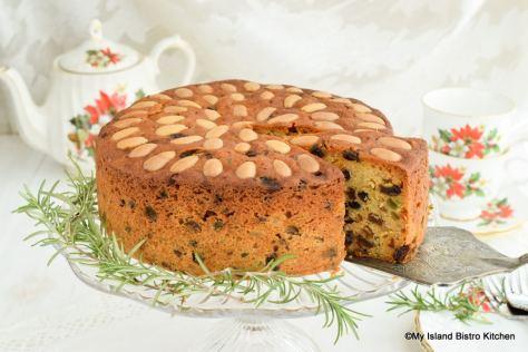 A slice of teatime cake