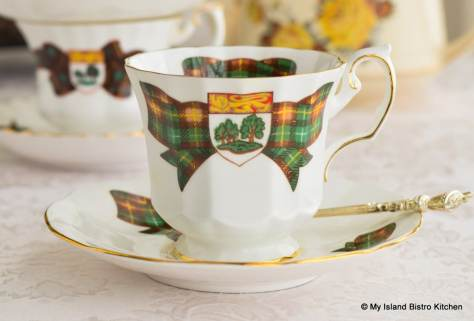 Elizabethan Commemorative PEI Cup and Saucer